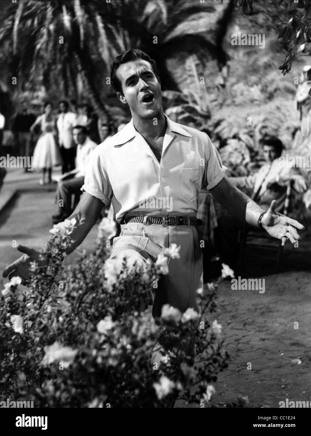 RICARDO MONTALBAN L'Amoureux (1953) Photo Stock