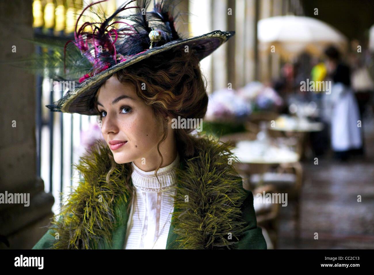LOUISE BOURGOIN LES AVENTURES EXTRAORDINAIRES D'Adèle Blanc-sec; les aventures extraordinaires d'Adèle Photo Stock