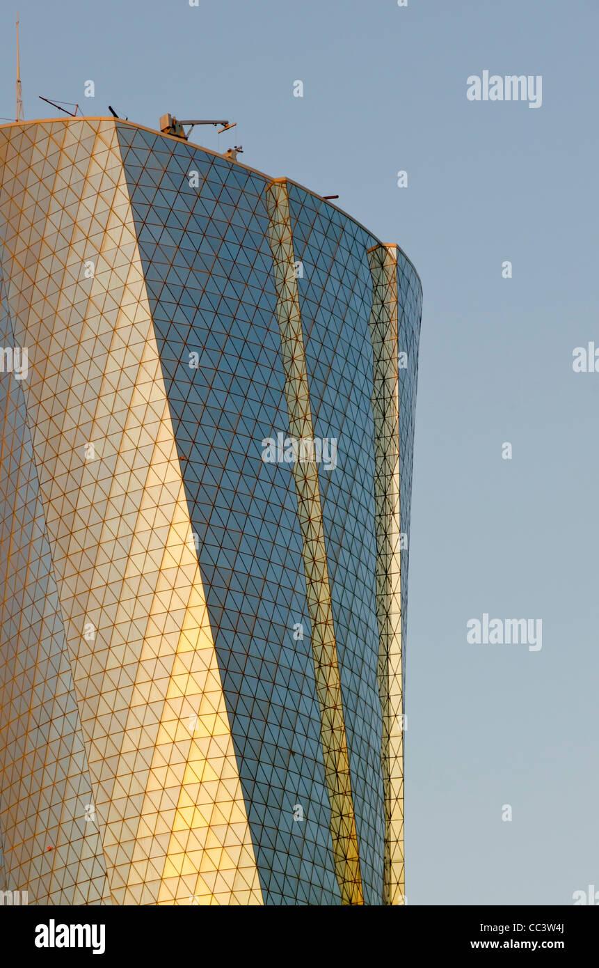 Qatar, Doha, Al Bidda Tower Photo Stock