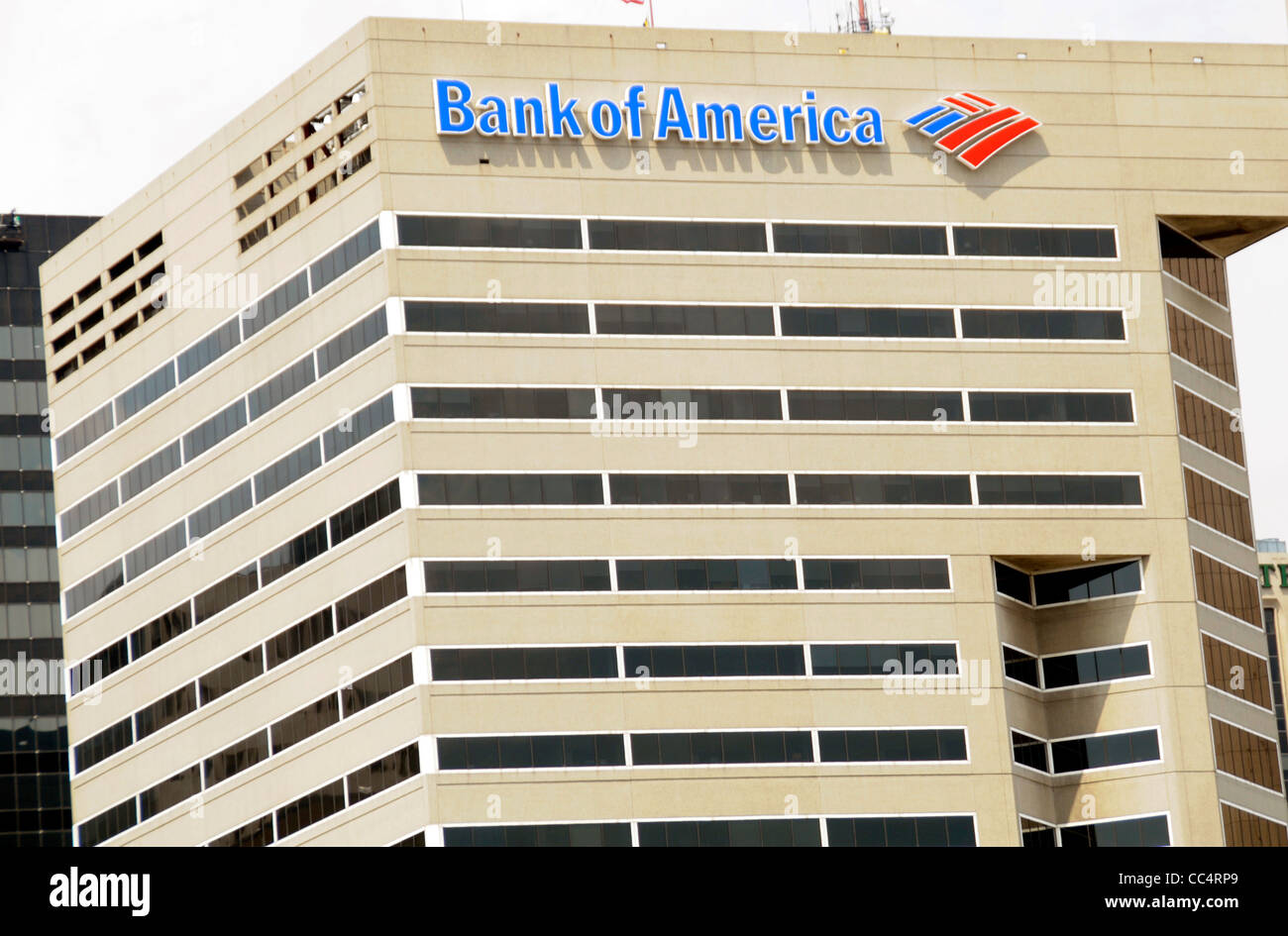 Bank of America Building à Baltimore, Maryland Banque D'Images