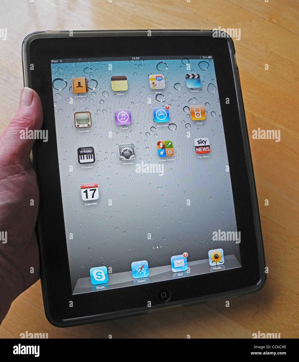 Un Apple i-Pad Photo Stock