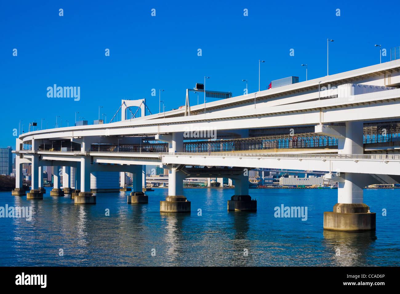 Pont de l'arc-en-ciel Banque D'Images