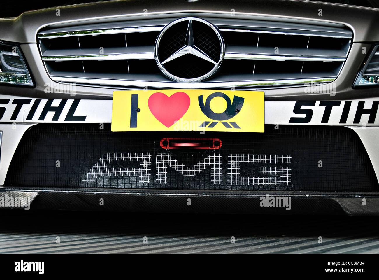 Voiture De Course Mercedes Amg Dtm Banque D Images Photo Stock