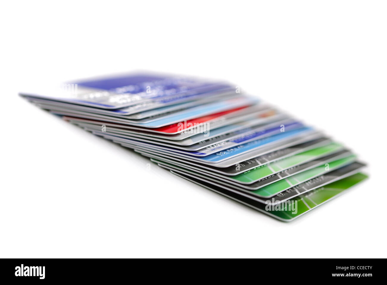 Cartes de crédit Photo Stock