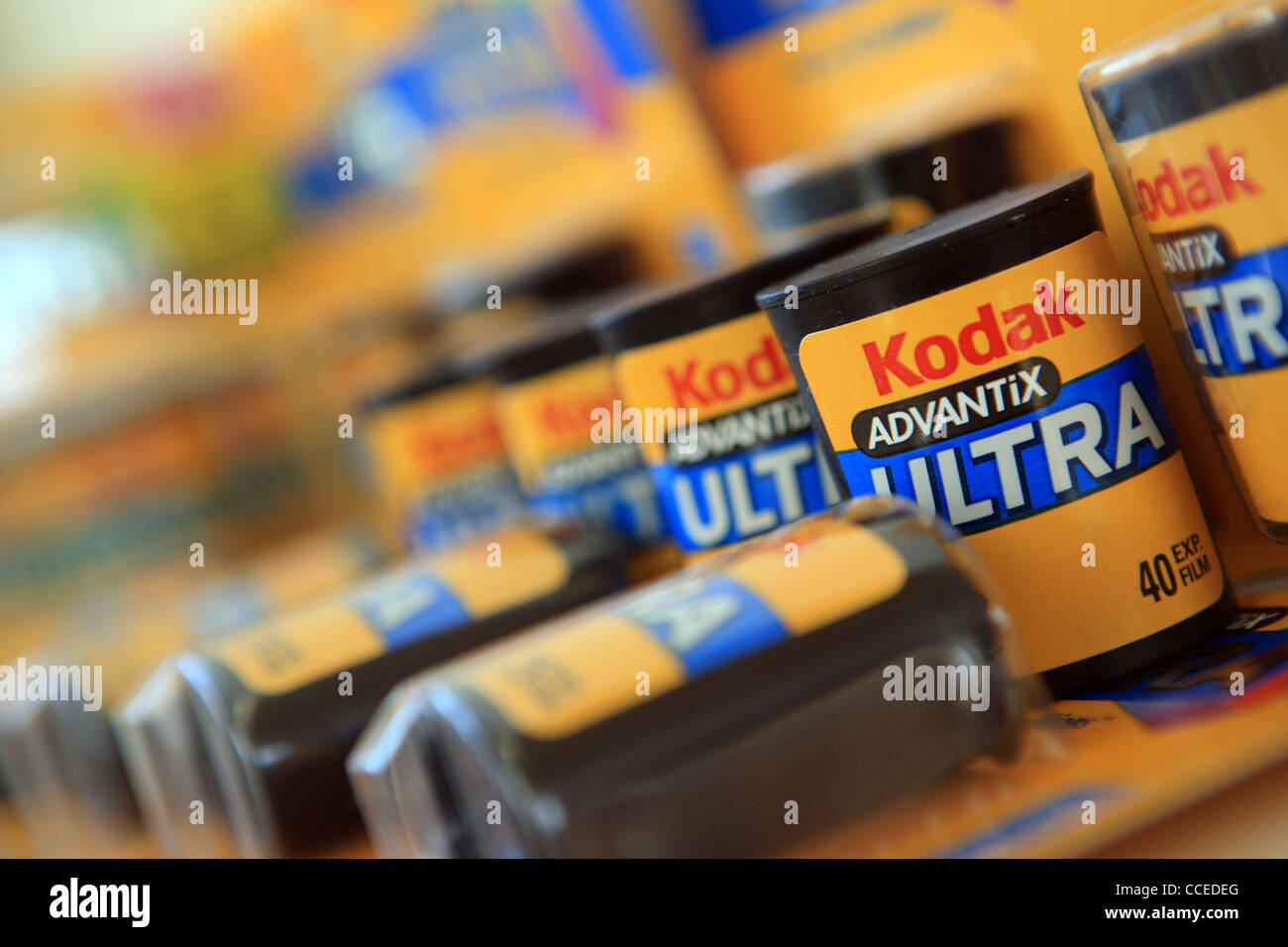 Films 35mm Kodak Photo Stock