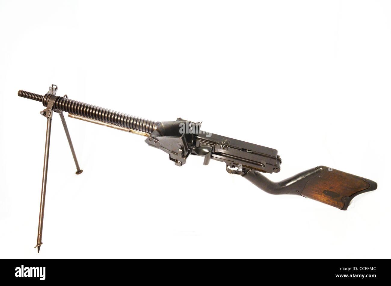 6,5 mm japonais LMG sans capbilty unique rond utilisé tout au long de la deuxième guerre mondiale 1922 Photo Stock