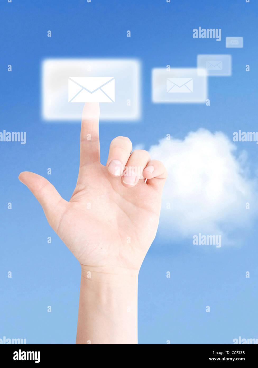Communication interactive Photo Stock