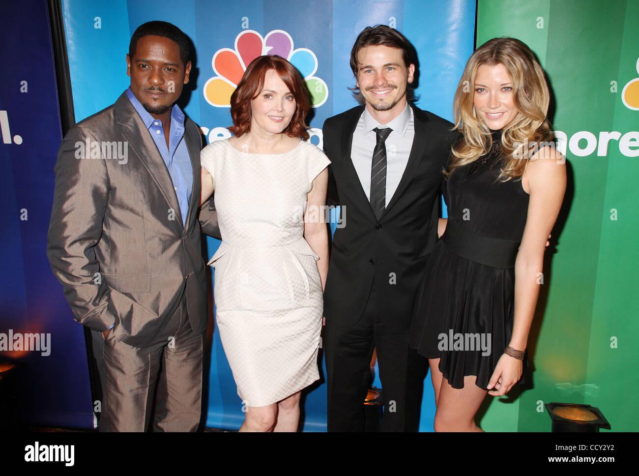 BLAIR UNDERWOOD acteurs, Laura INNES, JASON RITTER et SARAH ROEMER assister  à la CCBN d avance à l hôtel Hilton New York. 4b6a3724448