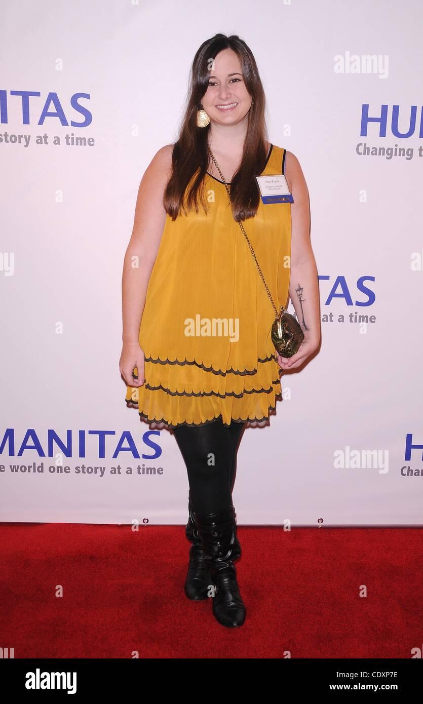 16 septembre 2011 - Hollywood, Californie, États-Unis - 37ième congrès annuel de l'humanitas Photo Stock