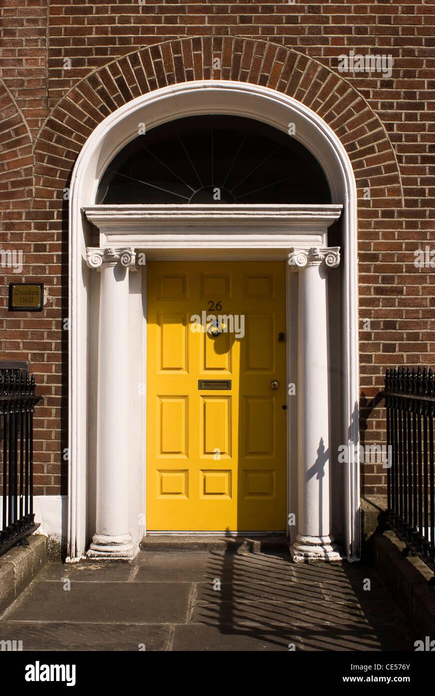 L'architecture géorgienne, Dublin, Irlande Photo Stock