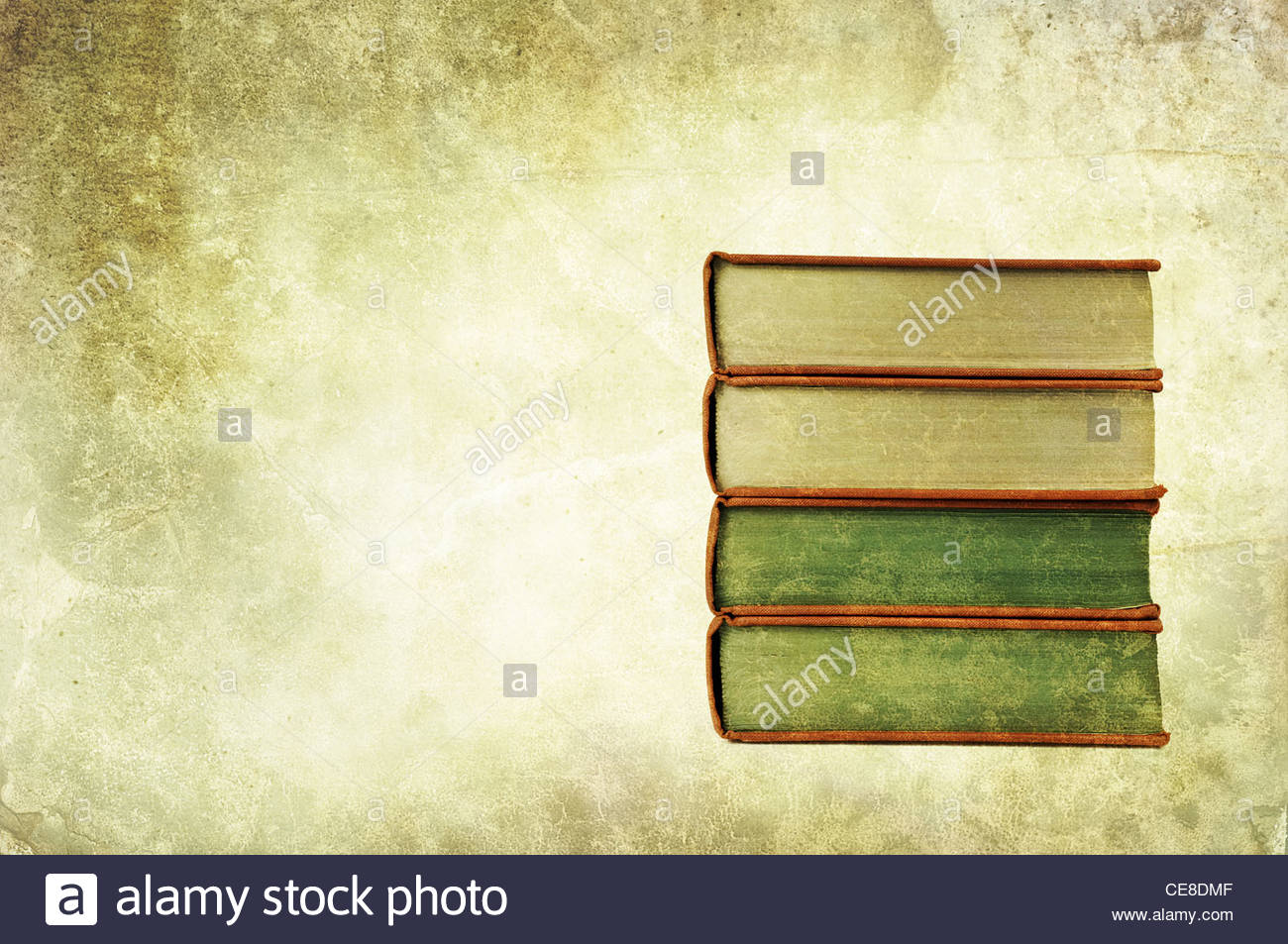 pile de livre ancien Photo Stock