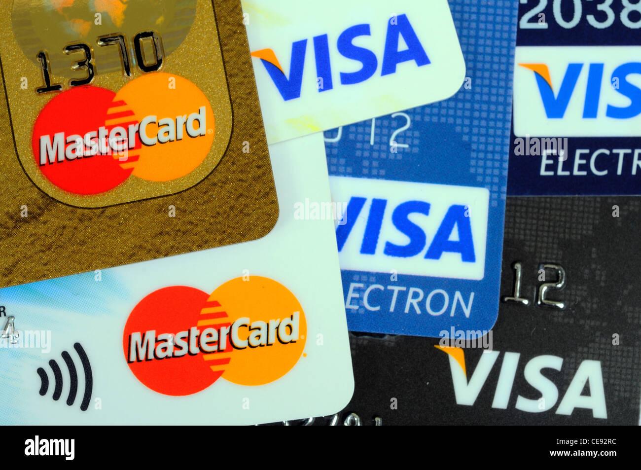 Carte Visa Angleterre.Les Cartes Visa Et Mastercard Cartes De Credit Et De Debit