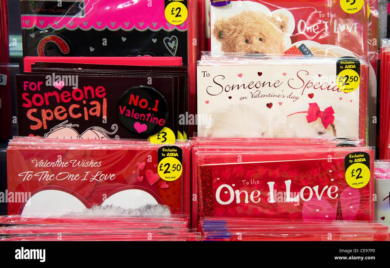Cartes de la Saint-Valentin Photo Stock