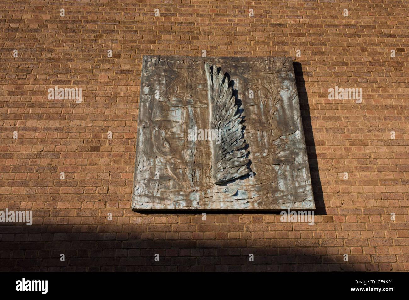 Le sens de la lumière, 2001 par l'artiste Christopher Le Brun RA (Royal Academy) in situ installés Photo Stock