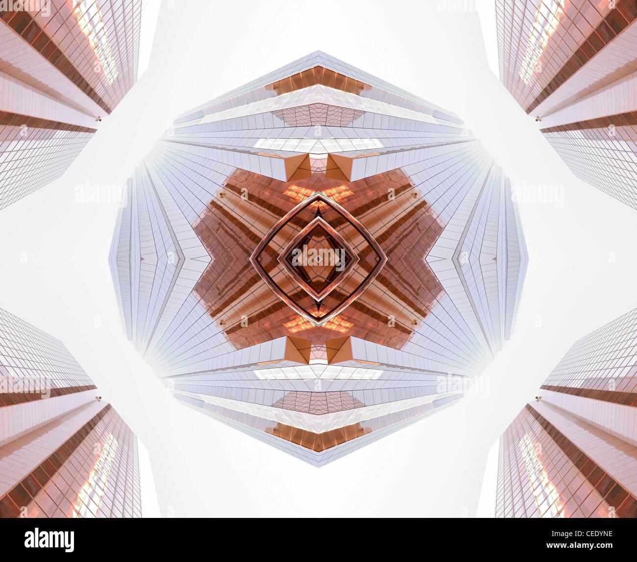 Résumé de l'architecture Photo Stock