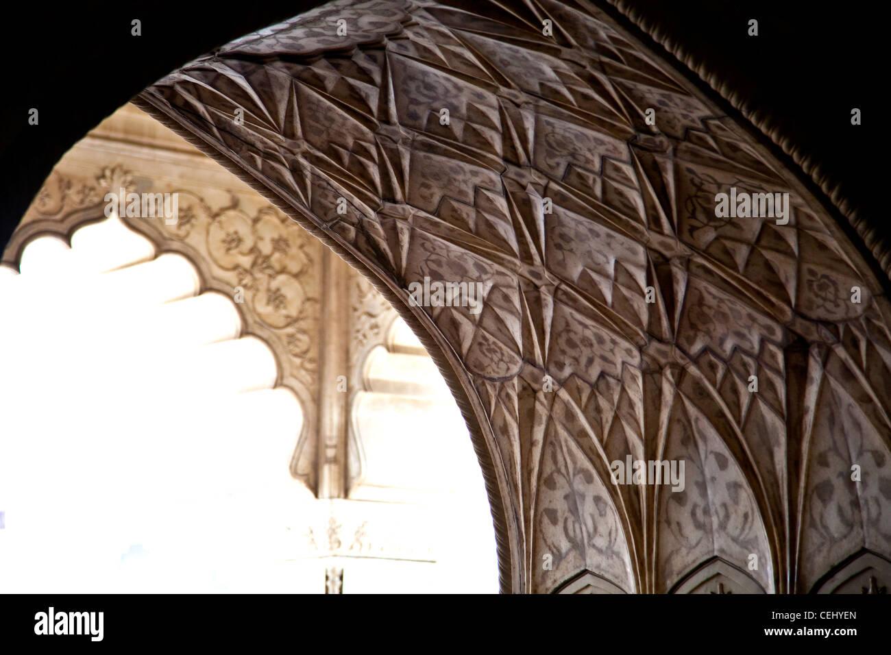 En Inde les architectures Photo Stock