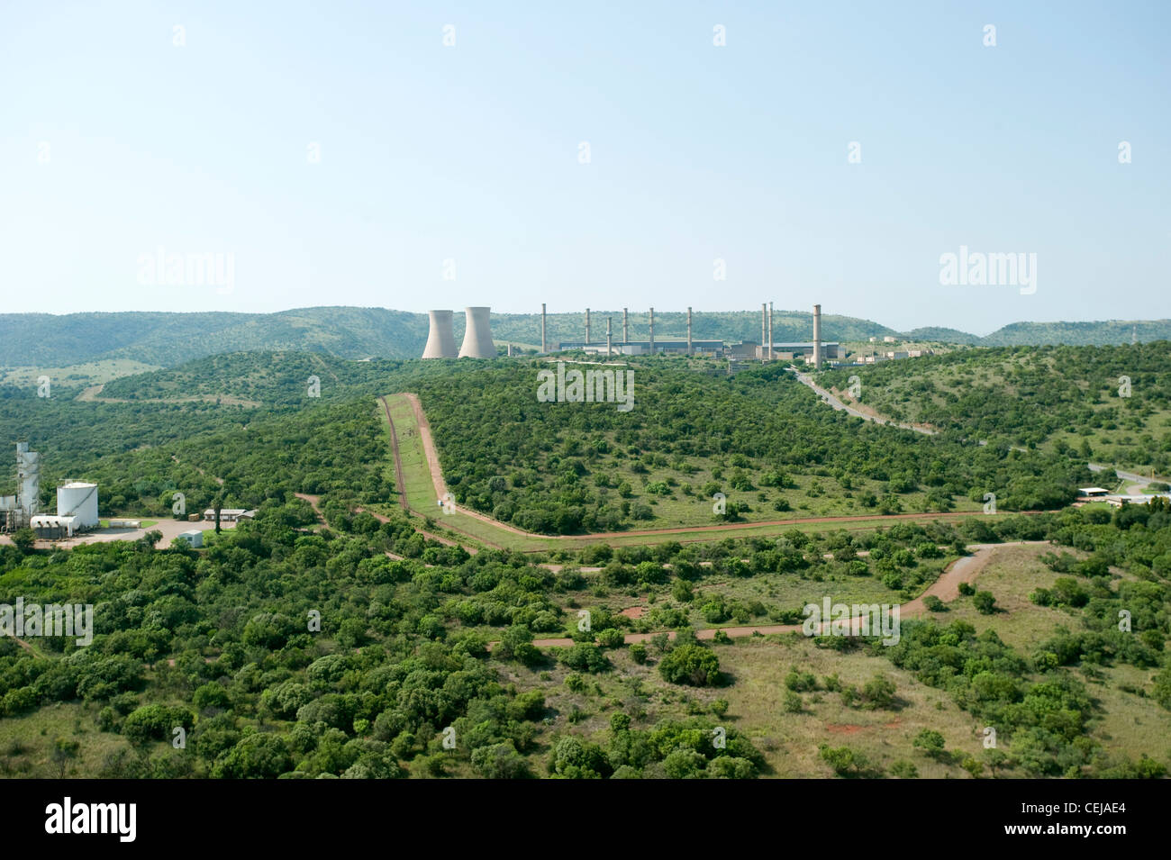 Antenne de Johannesburg, Gauteng Photo Stock