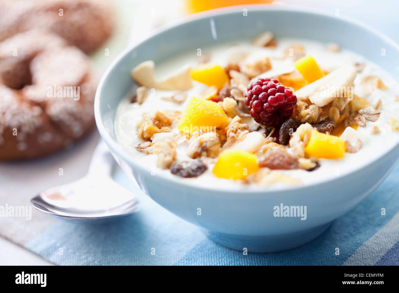 le petit déjeuner Photo Stock