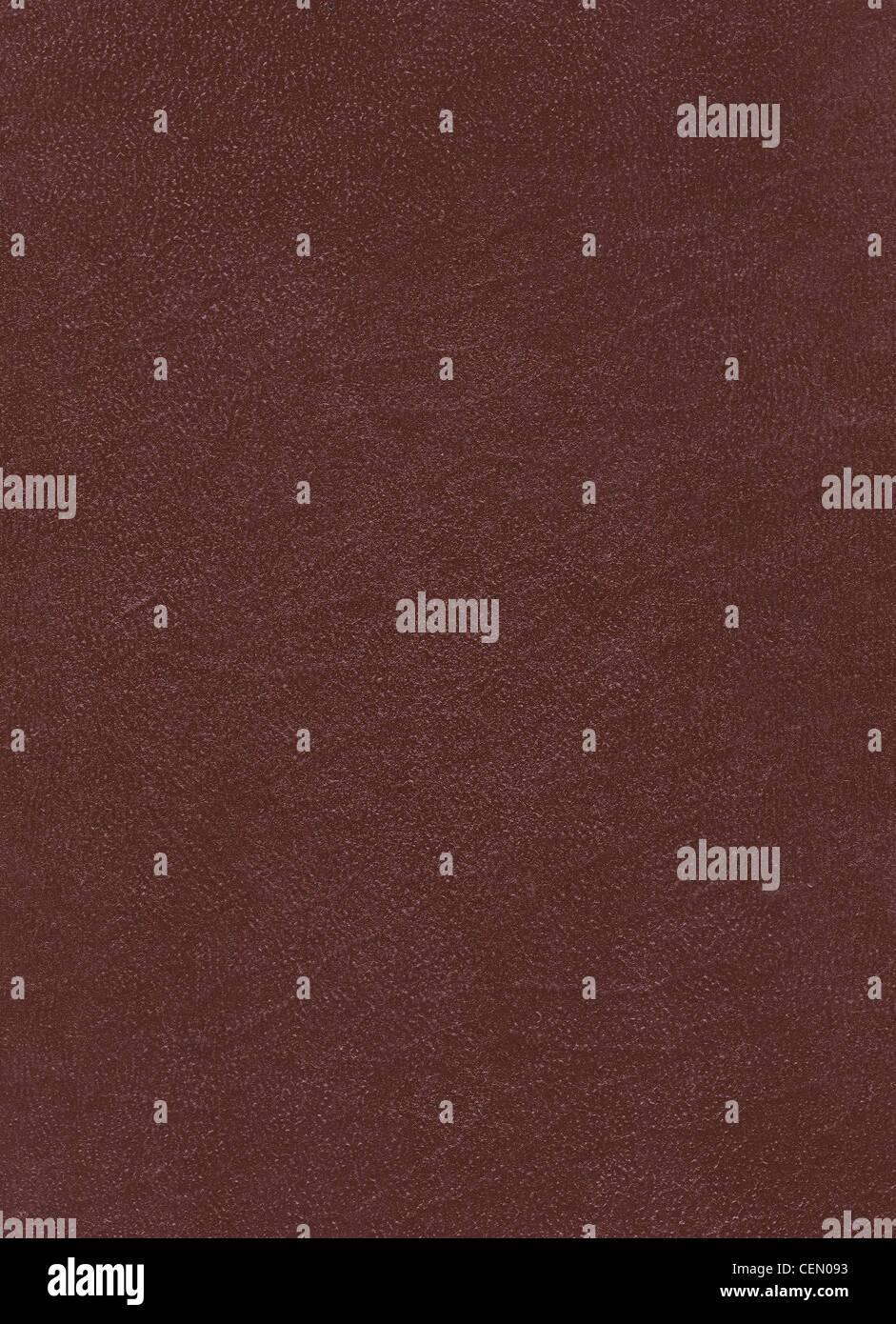 Cuir brun texture détaillée en haute résolution Banque D'Images
