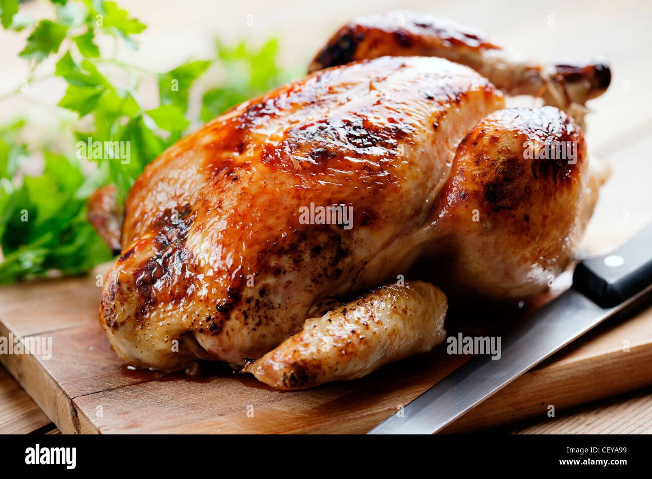 dîner de rôti Photo Stock