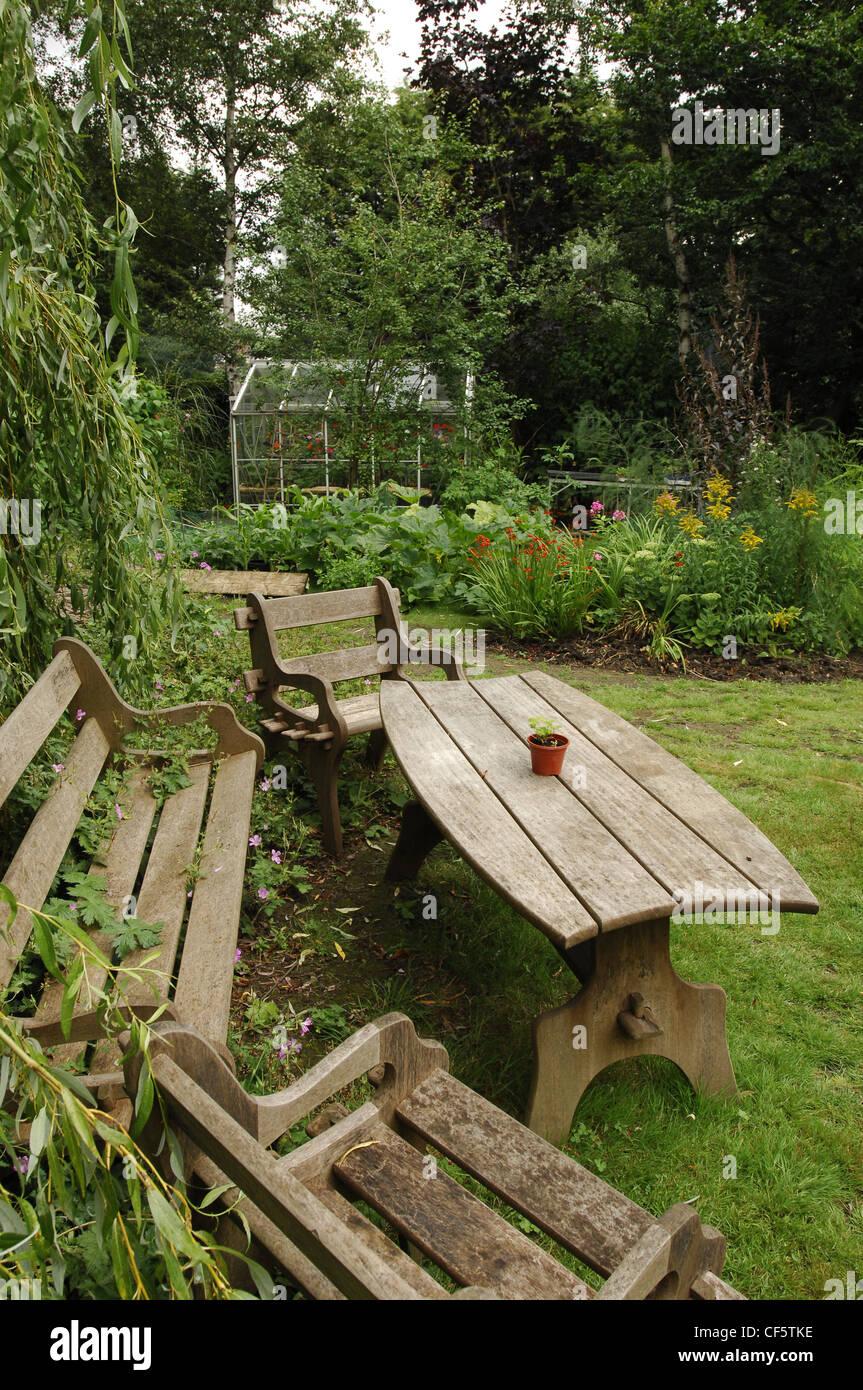 Toutes les saisons Jardin Bois mobilier de jardin sur la ...
