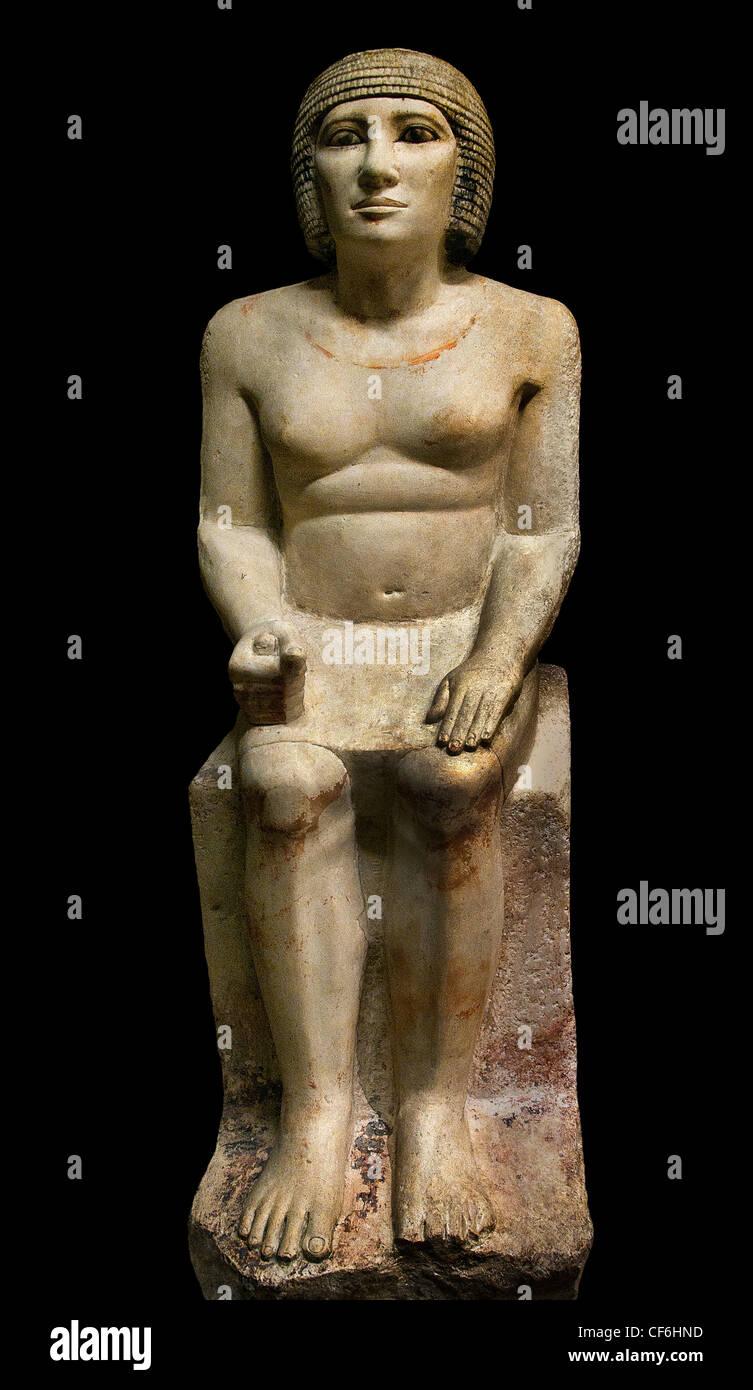 Pehernefer chef Boucher 4 dynasty 2575-2450 BC Ancien Empire égyptien Egypte Saqqarah Photo Stock