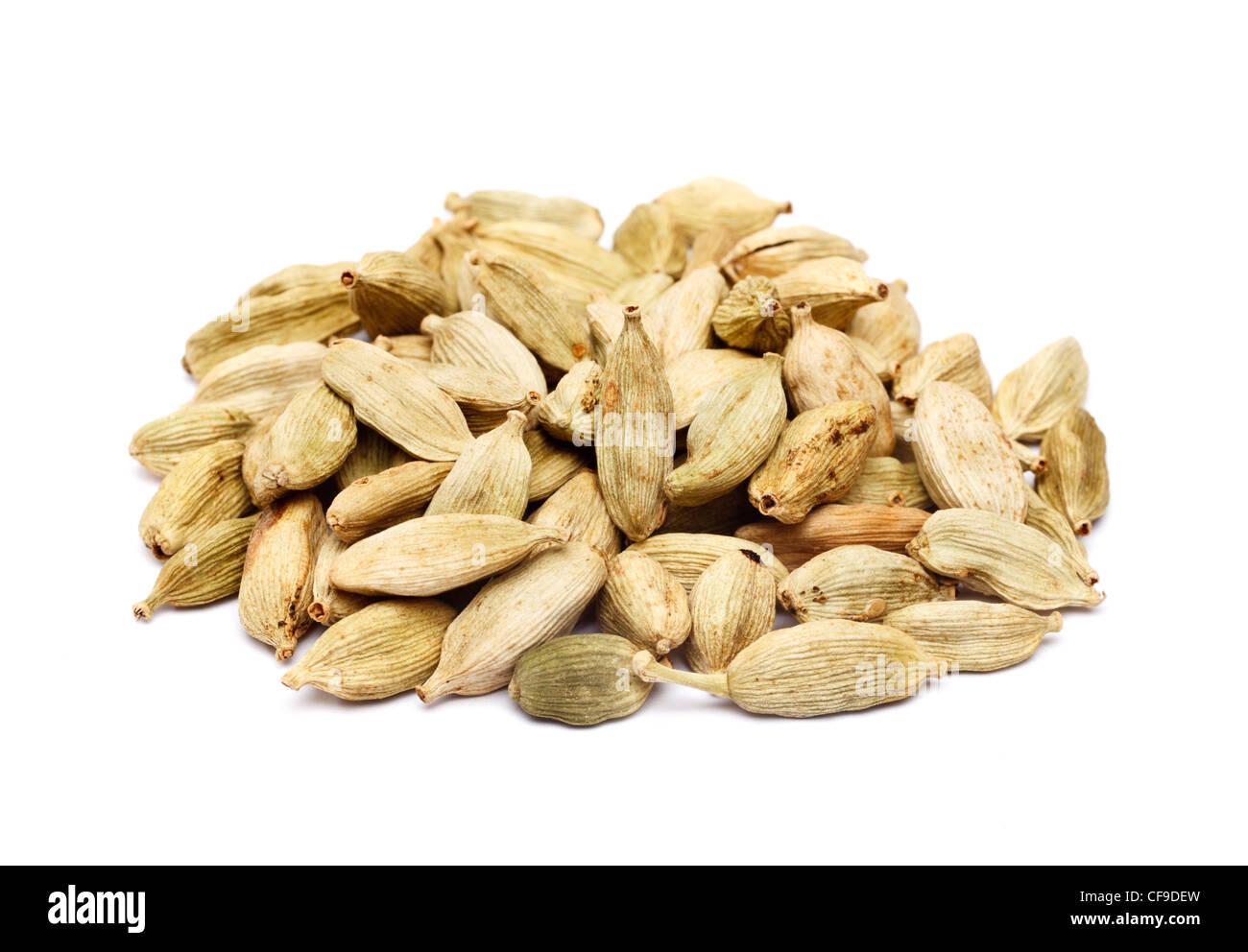 Graines Cardomom pod Photo Stock