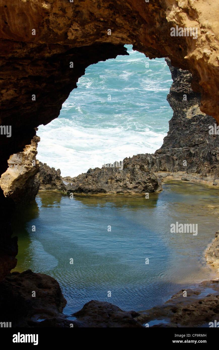 L'Australie, Victoria, Great Ocean Road, Port Campbell National Park, l'Arche Photo Stock
