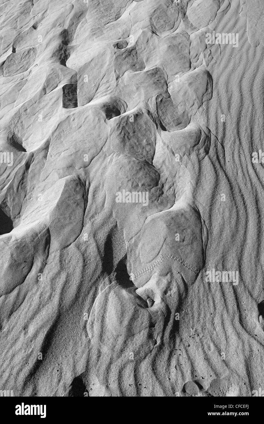 Télévision Mesquite Sand Dunes in Death Valley, California, USA Banque D'Images