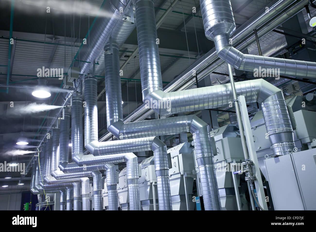 Usine Air Liquide Photo Stock