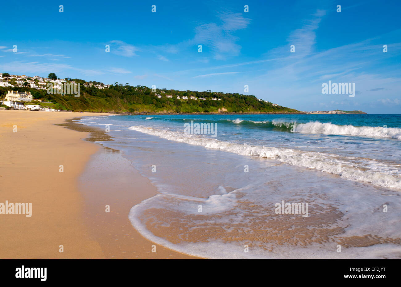 Carbis Bay Beach, Cornwall, Angleterre, Royaume-Uni, Europe Banque D'Images