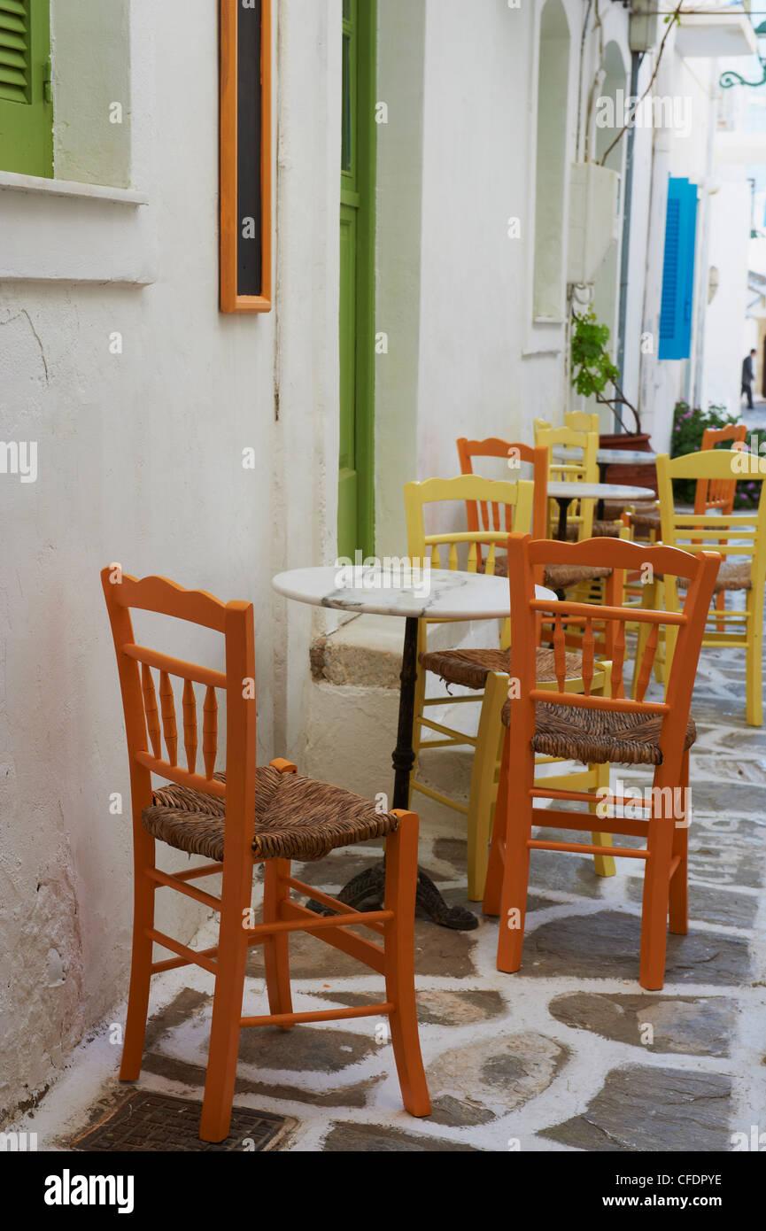 Parikia (Hora), l'île de Paros, Cyclades, îles grecques, Grèce, Europe Photo Stock