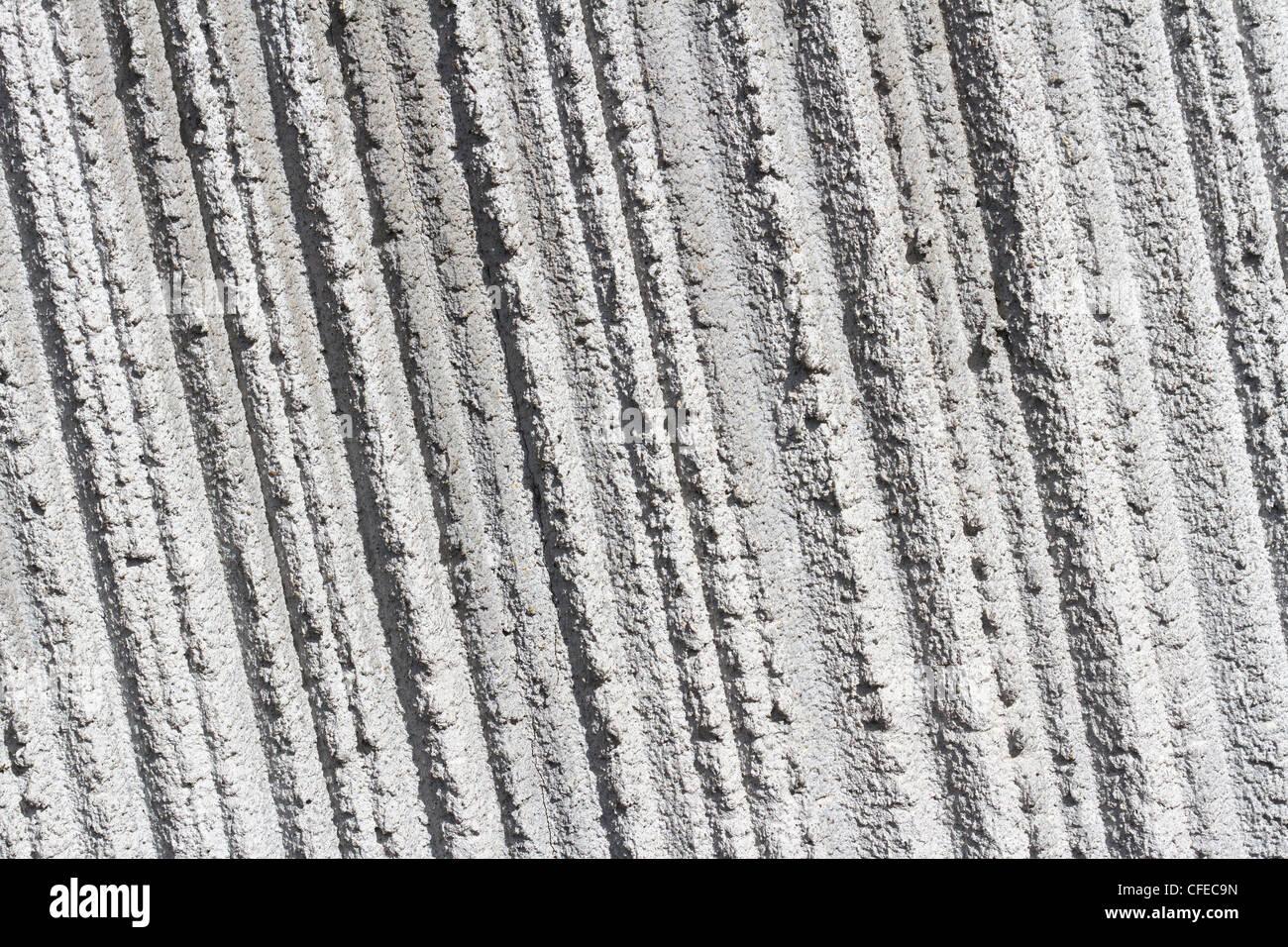 Mur de béton gris texturé pour différents Photo Stock