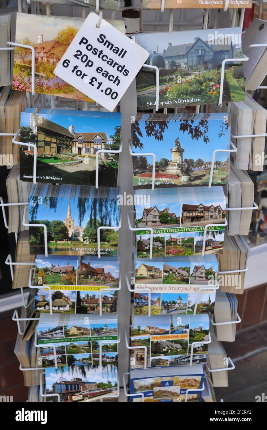 Carte Postale d'Angleterre Photo Stock