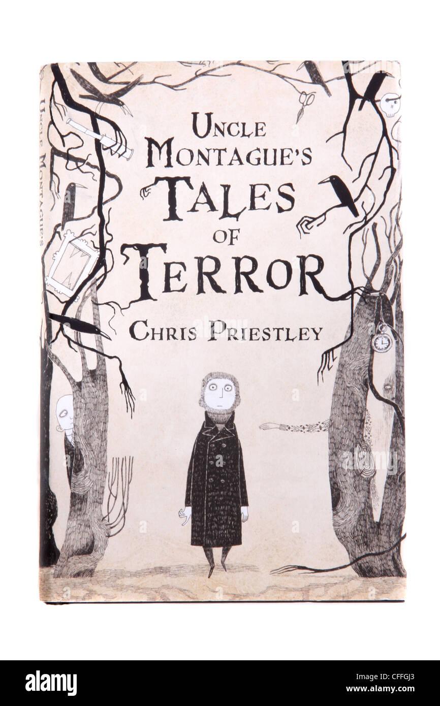 """Un roman classique par Chris Priestley 'Oncle Montague's Tales de la terreur."""" Photo Stock"""