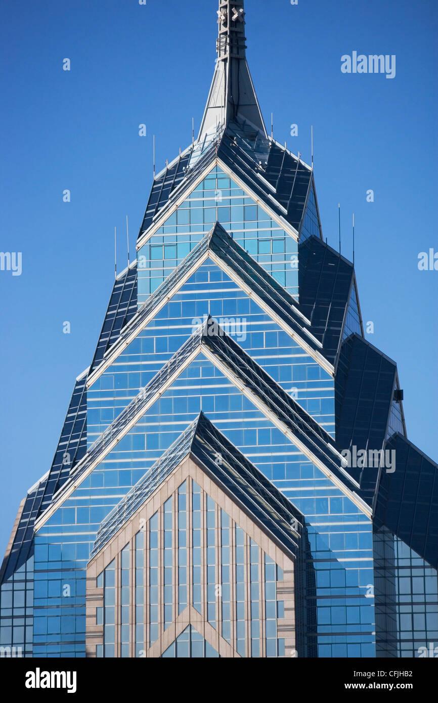 Un Liberty Place, Philadelphie, Pennsylvanie Photo Stock