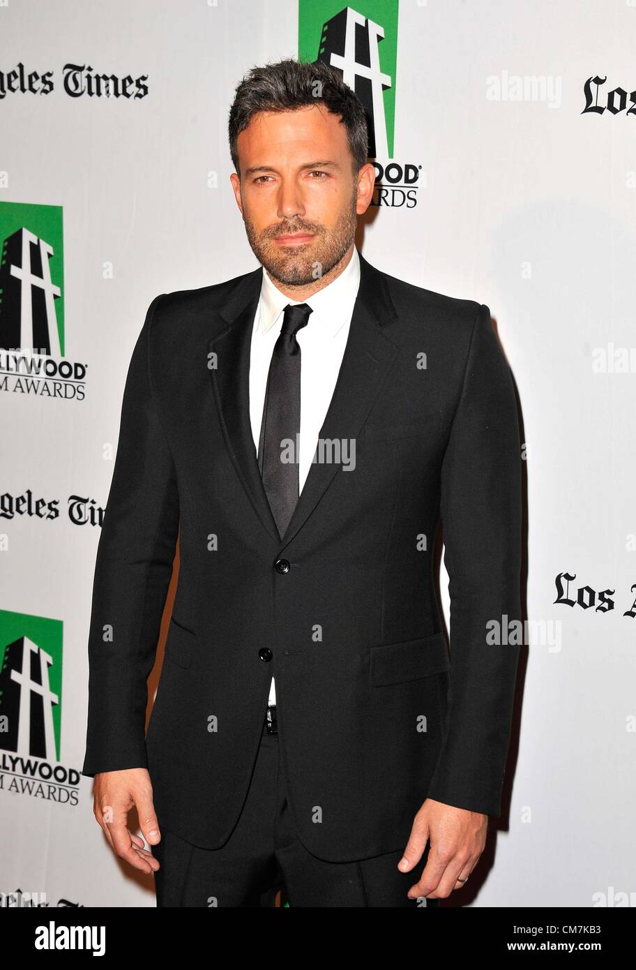 22 octobre 2012 - Los Angeles, Californie, États-Unis - Ben Affleck participant à la 16e Conférence Photo Stock
