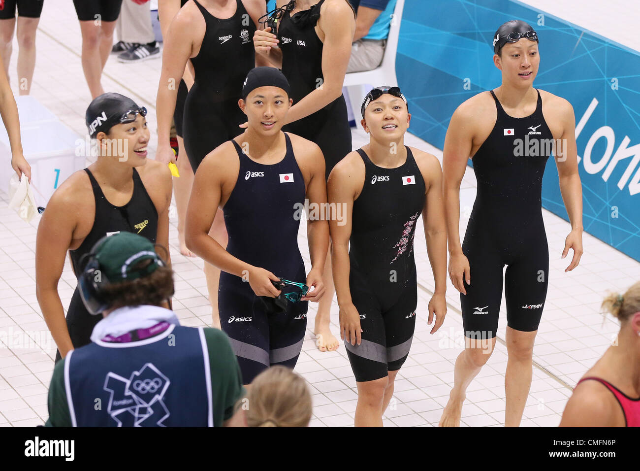 L à R) Haruka Ueda (JPN), Suzuki (JPN) Satomi, Yuka Kato
