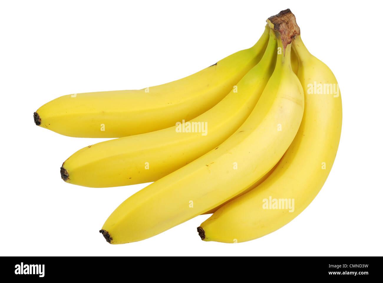Banane isolé Banque D'Images