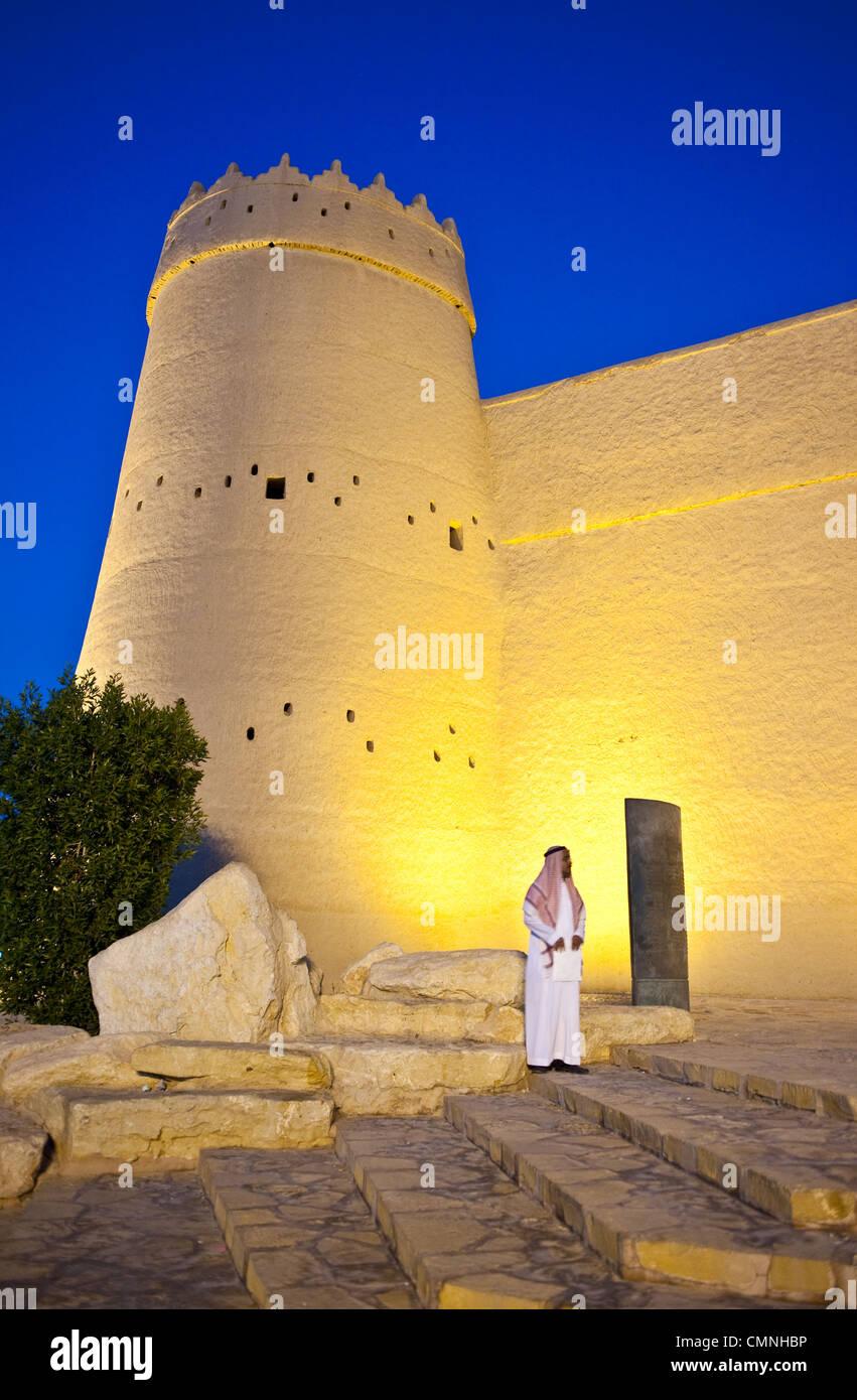 Asie Arabie Saoudite Riyadh La Forteresse Masmak (XIX siècle) Photo Stock