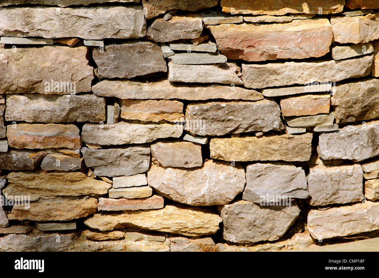 Stone Wall background Photo Stock