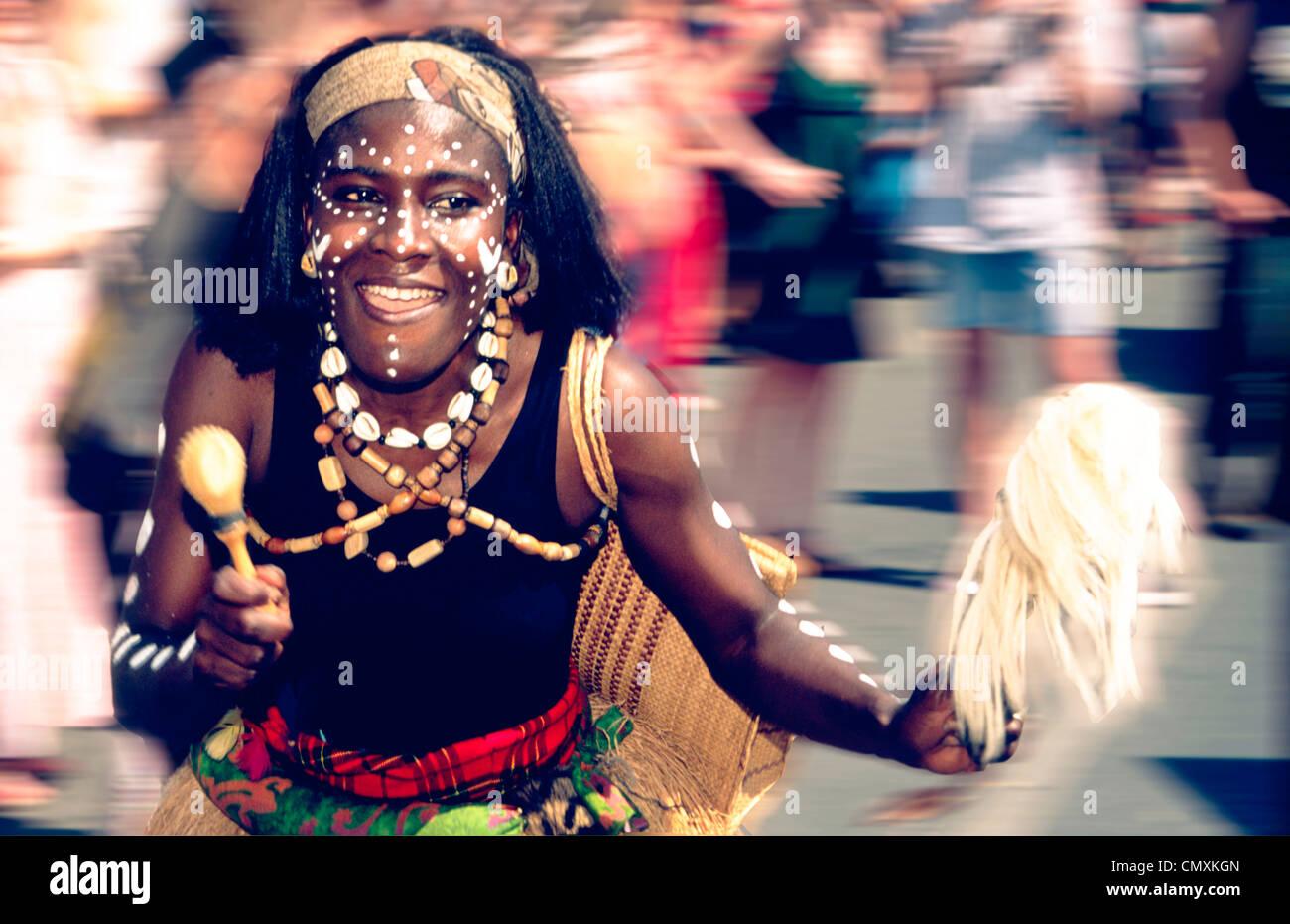 Carnaval des Cultures, Berlin Photo Stock