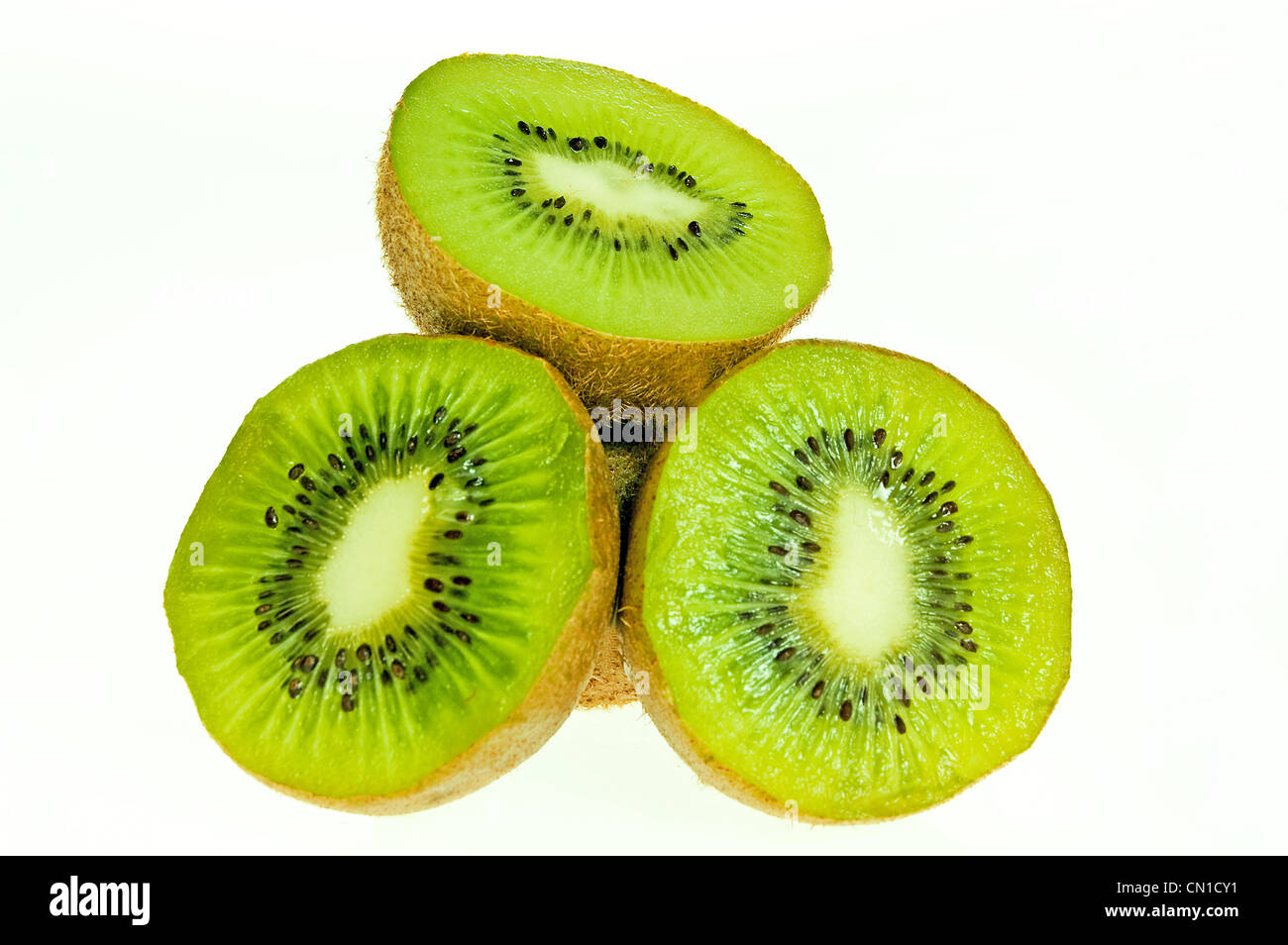 Les kiwis frais close up Photo Stock