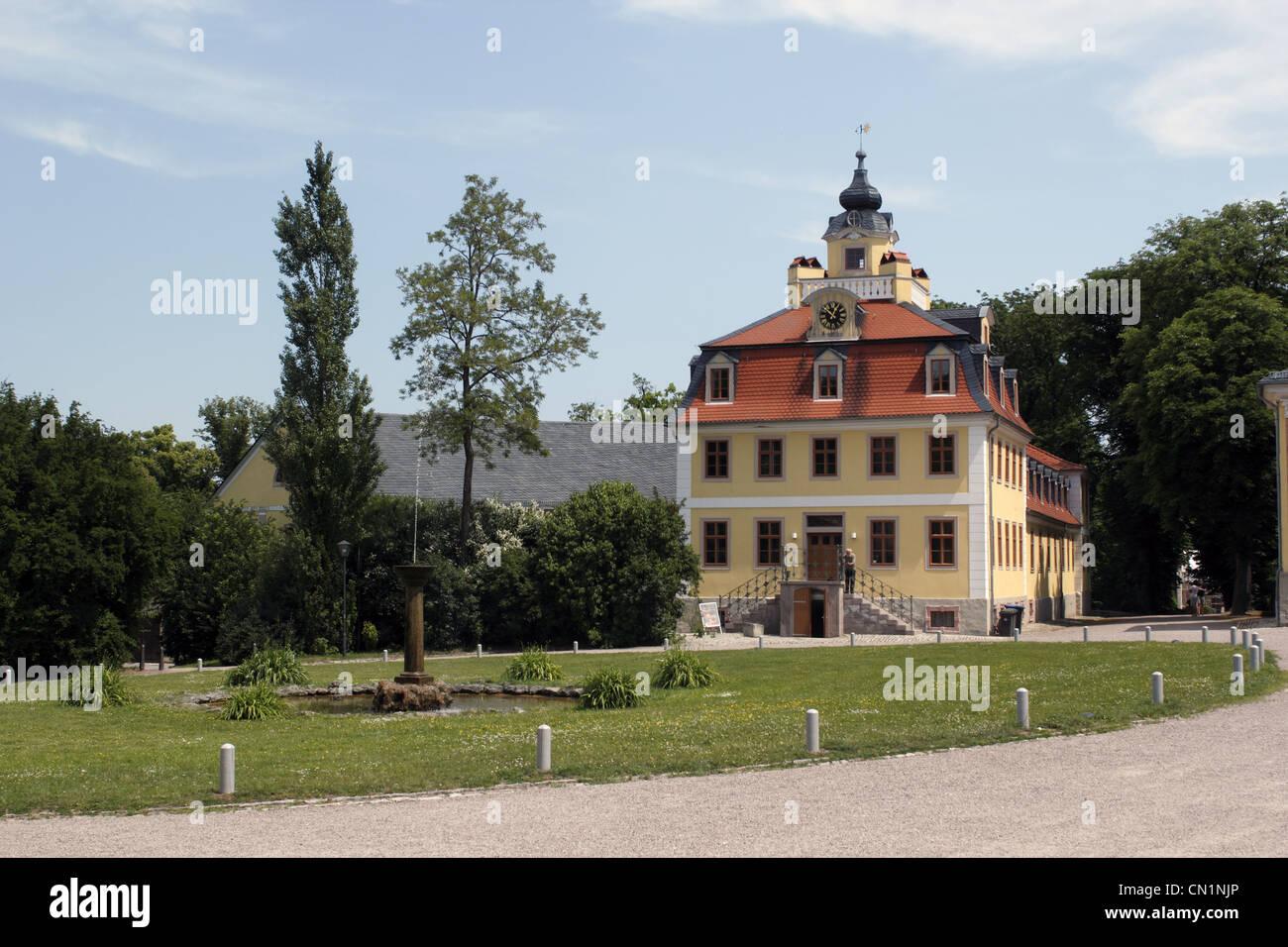 Thuringe Weimar Château Belvedere Banque D'Images