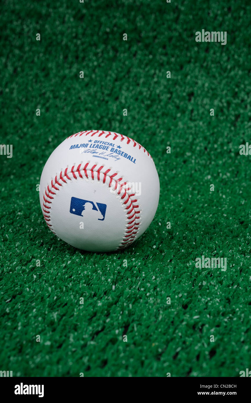 La Ligue Majeure de Baseball. Photo Stock
