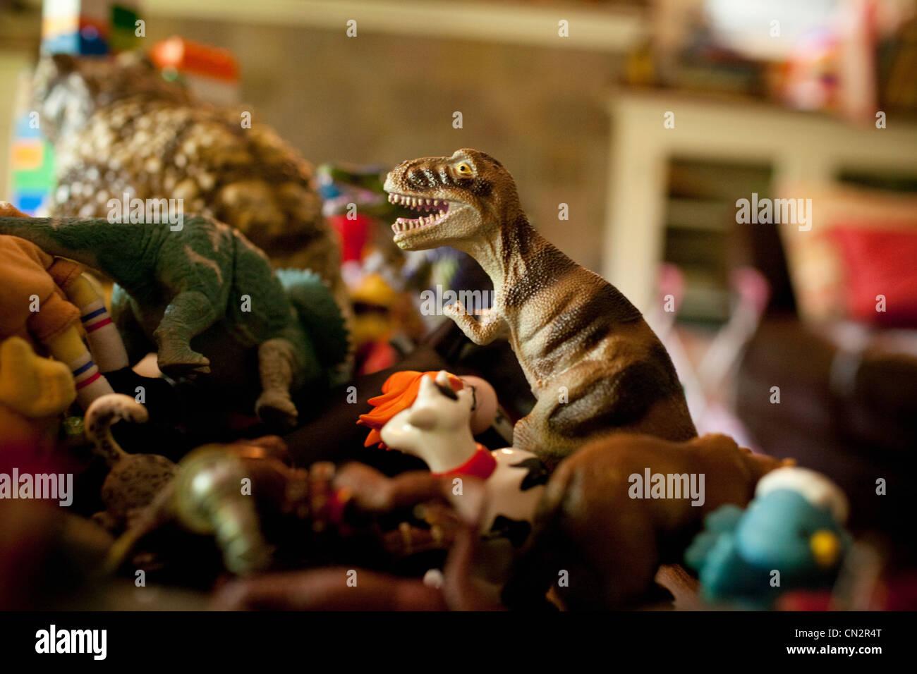 Les jouets de la petite enfance, Close up Banque D'Images