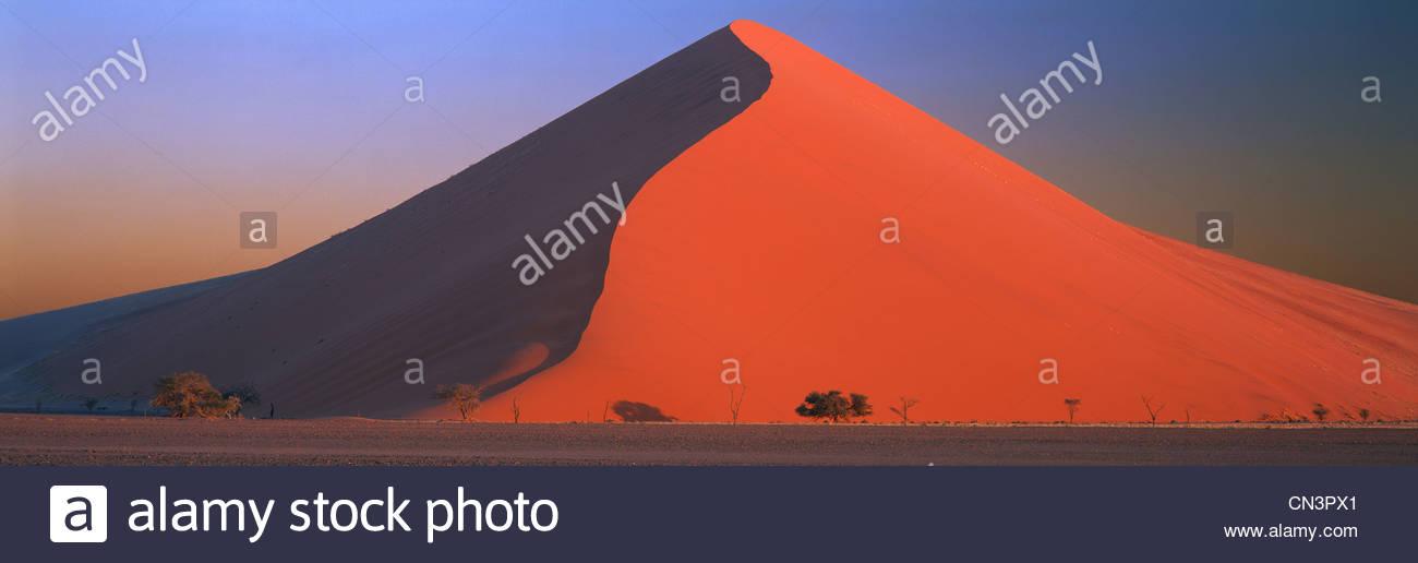 Dune, parc de Namib Naukluft, Namibie Photo Stock