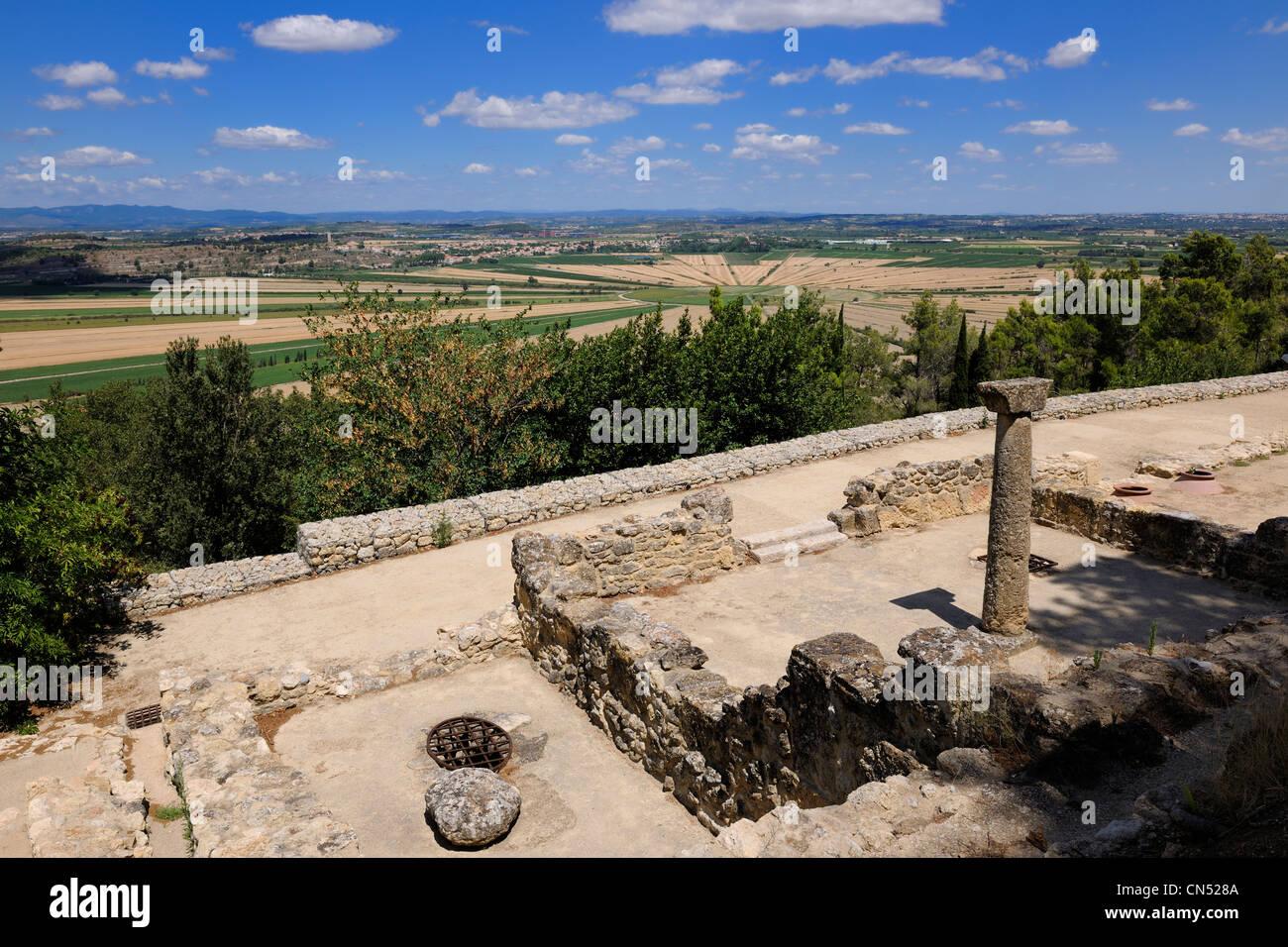 la france l 39 h rault nissan lez enserune l 39 oppidum d 39 ens rune est un ancien hill town entre le. Black Bedroom Furniture Sets. Home Design Ideas