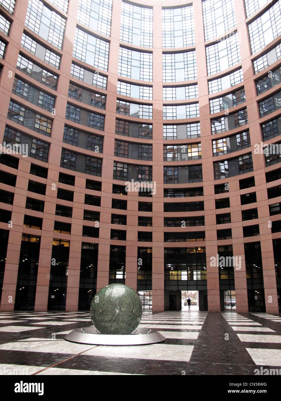 Architecte Bas Rhin la france, bas rhin, strasbourg, parlement européen par le
