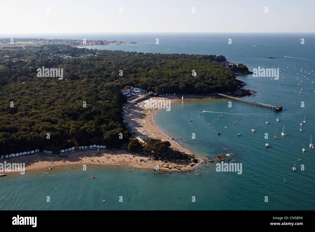 France Vendee Ile De Noirmoutier En LIle Bois La Chaise Plage Des Dames Pointe Antenne